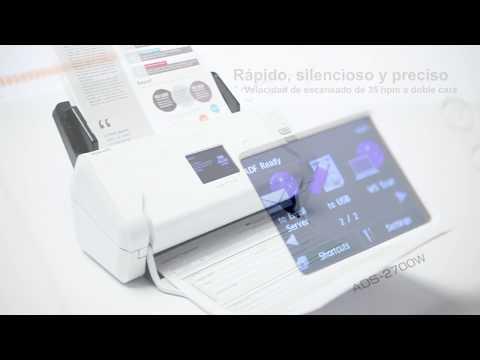 Tour de producto escáner departamental Brother ADS-2700W
