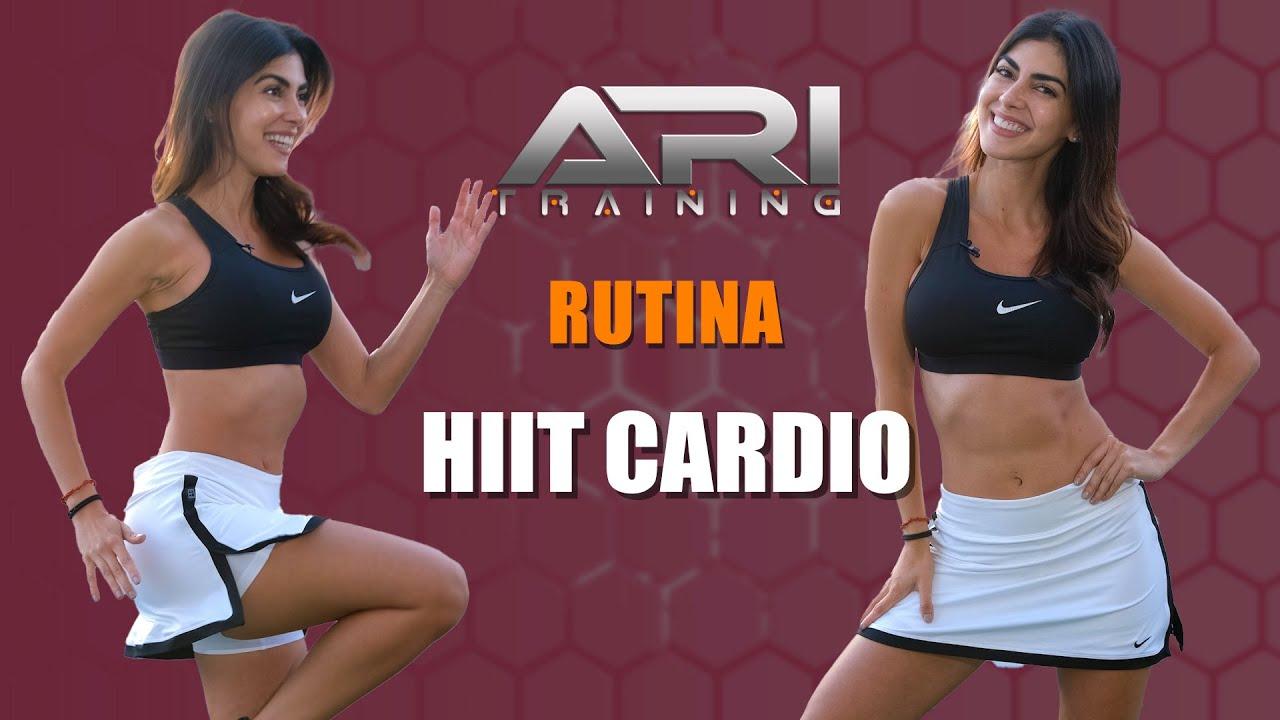 Rutina HIIT CARDIO – Ari Training – #HiitCardioWorkout