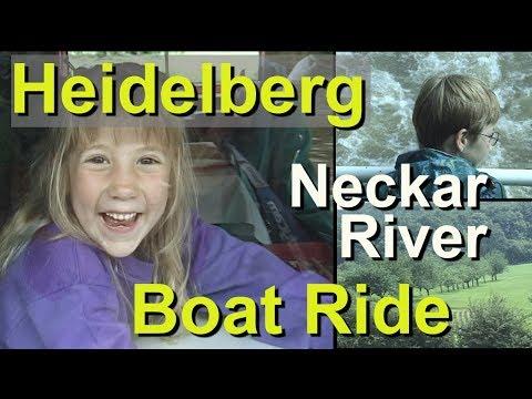 Heidelberg to Neckarsteinach boat ride on the Neckar River, Germany - UCvW8JzztV3k3W8tohjSNRlw