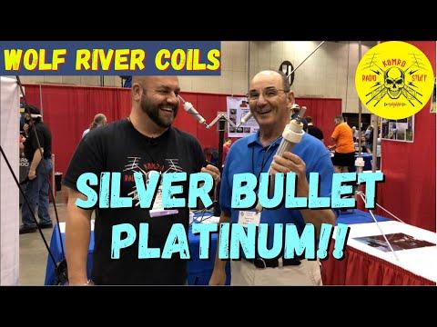 Wolf River Coils High Power Silver Bullet Platinum Ham Radio Antenna