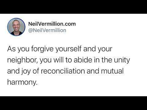 The Unity Of Joy And Reconciliation - Daily Prophetic Word
