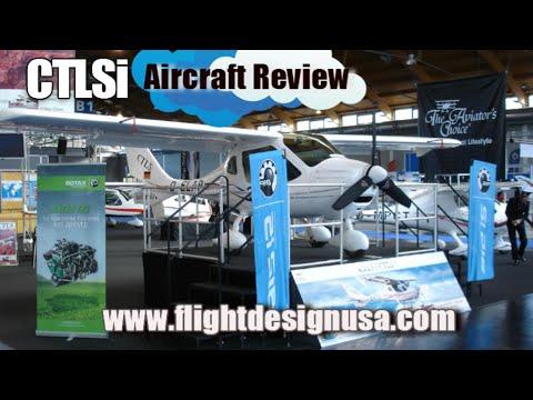CTLSi, Flight Design CTLSi light sport aircraft review, Midwest LSA Expo, Mt. Vernon Illinois.
