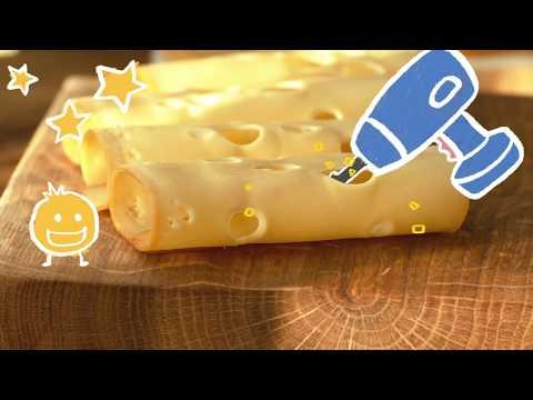 Der Bauer macht Löcher in den Käse?