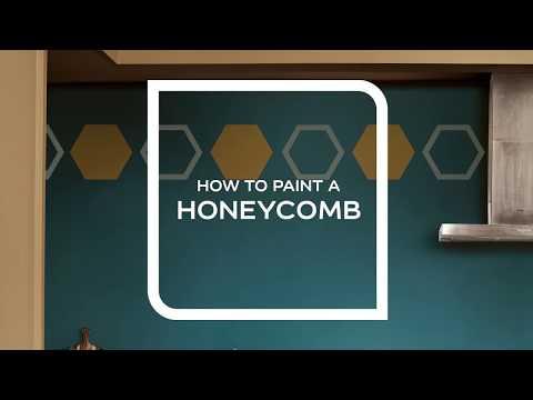 Hur måla Honeycomb