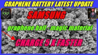 GRAPHENE BATTERY LATEST UPDATE//Samsung smartphone with Graphene battery update.