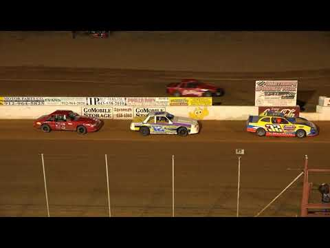 04/23-/21 Mini Stock Feature Race @ Oglethorpe Speedway Park - dirt track racing video image