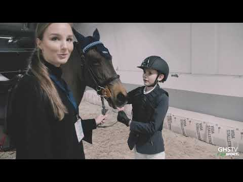 Gothenburg Horse Show - Oskar Lund Sverige ponnyn 2020