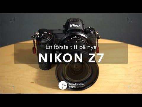 En första titt på nya Nikon Z7
