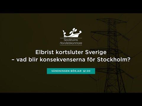 Elbrist kortsluter Sverige – vad blir konsekvenserna för Stockholm?