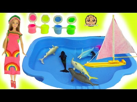 Dollar Tree Water Boat, Easy DIY Sock Barbie Doll Rainbow Dress , Glow In The Dark Craft - UCelMeixAOTs2OQAAi9wU8-g