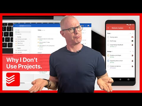Why I Don't Use Projects In Todoist