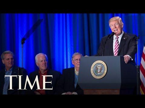 President Trump On His Meeting With Mexican President Enrique Peña Nieto   TIME