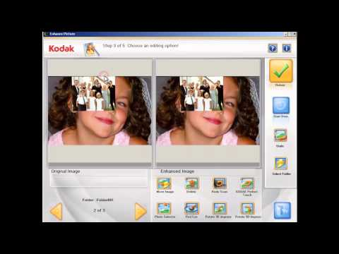 Re-scanning photos using the Kodak Picture Saver Scanning System Preview