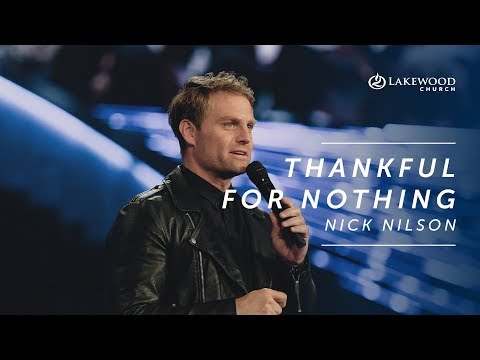 Nick Nilson - Thankful for Nothing