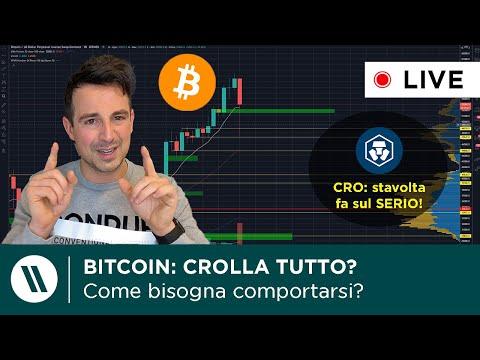 BITCOIN: CROLLA TUTTO? CHE FARE? | CRO (Crypto.com) token BURN: pomperà come BNB?