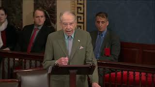 🔴 Grassley on Requests for the President's Tax Returns