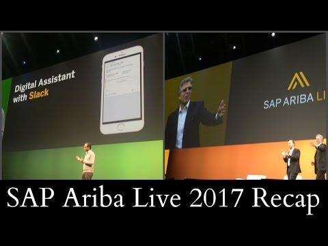 SAP Ariba Live 2017 Recap
