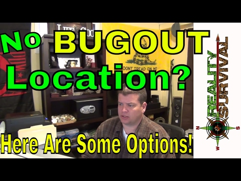 No Set Bug Out Location? Here are some options!  Use P.A.C.E.