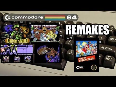 REMAKES COMMODORE Y SUPER MARIO BROS C64