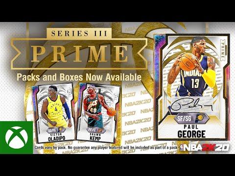NBA 2K20 MyTEAM: Paul George PRIME Series III