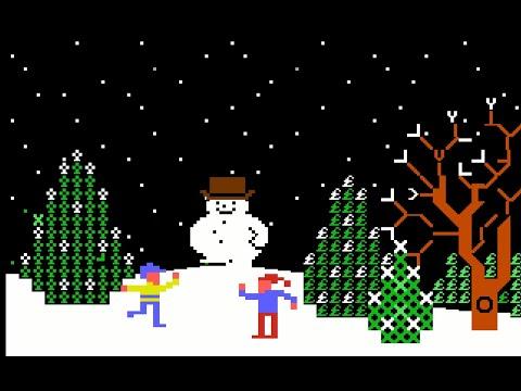 Navidades Commodorianas (2) - C64 Real 50 Hz