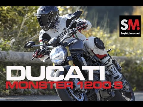 Ducati Monster 1200 S 2017: Prueba Naked