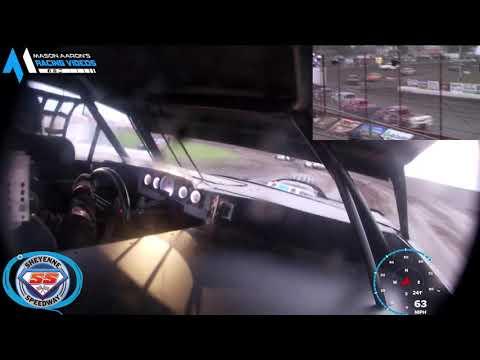 #27 Jerry Lamb WISSOTA Street Stock On-Board @ Sheyenne (9/6/21) - dirt track racing video image