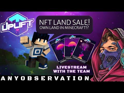 TheUplift Minecraft World Land Sale Liveshow! | Join the team!