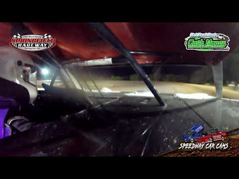#26 Brian Williams - Cash Money Late Model - 10-3-2020 Springfield Raceway - In Car Camera - dirt track racing video image