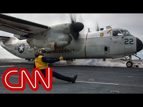 Navy aircraft crash leaves 3 missing in Philippine Sea