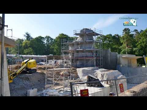 Zoo Rostock | Die Polarium-Baustelle Ende Juli 2018