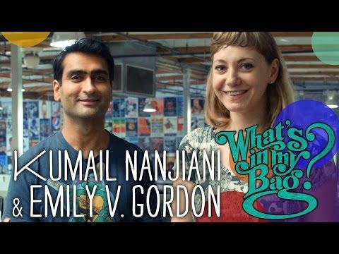 Kumail Nanjiani and Emily V. Gordon - What's in My Bag?