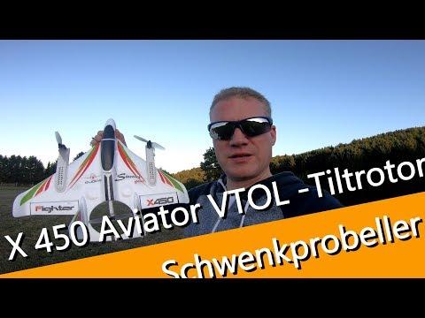 XK X 450 Aviatior Schwenkprobeller Flugzeug oder Drohne? sehr abgefahren das Modell - UCNWVhopT5VjgRdDspxW2IYQ