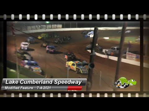 Lake Cumberland Speedway - Modified Feature - 7/5/2021 - dirt track racing video image