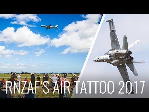 RNZAF Air Tattoo - F16 & F18's at Air Show