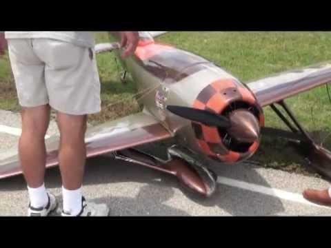 Mel Holtman's First Flight of Airworld Gee Bee R3 - UCoCMC3MMc_z0y6Ama4W6lFQ