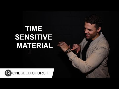 When it's not in God's timing, it's not ready  --  Subscribe to the latest sermons: https://oneseedchurch.org/sermons/  To support this ministry and help us continue to reach people all around the world click here:  https://oneseedchurch.org/giving/  Discover God's perfect plan made just for you. This is the vision of One Seed Church, led by Pastor Jeff Gwaltney and based in St. Louis, Missouri.  --  Stay Connected  Website:  https://oneseedchurch.org/  One Seed Church Facebook:  http://facebook.com/oneseedchurch.org  One Seed Church Instagram:  https://www.instagram.com/oneseedchurch/  One Seed Church Twitter:  https://twitter.com/oneseedchurch  One Seed Church Mobile App: https://play.google.com/store/apps/details?id=com.customchurchapps.oneseed https://itunes.apple.com/us/app/oneseed/id1248467008?ls=1&mt=8  Jeff Gwaltney YouTube:  https://www.youtube.com/jeffgwaltneyofficial  Jeff Gwaltney Facebook:  https://facebook.com/jeffgwaltneyOfficial/  Jeff Gwaltney Instagram:  https://www.instagram.com/jeffgwaltney/  Jeff Gwaltney Twitter:  https://twitter.com/jeffgwaltney  #jeffgwaltney #oneseedchurch #timesensitivematerial