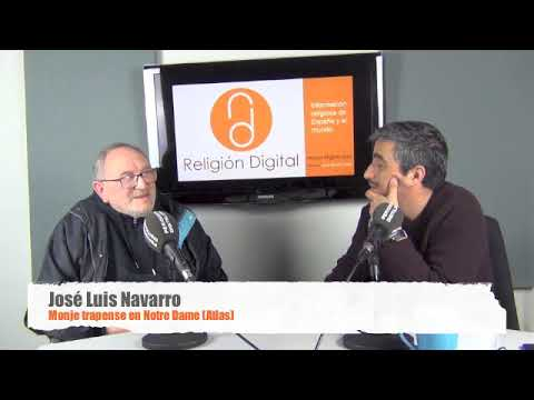 José Luis Navarro, monje en el Atlas