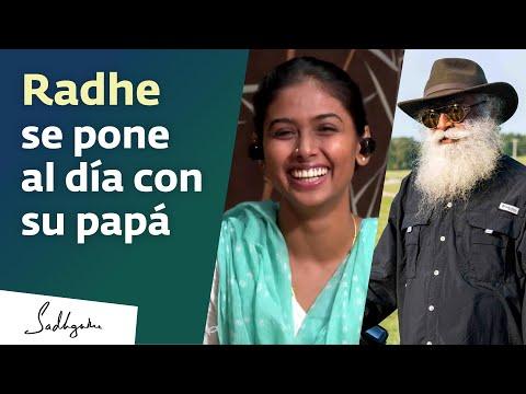 Radhe se pone al día con Sadhguru | Sadhguru