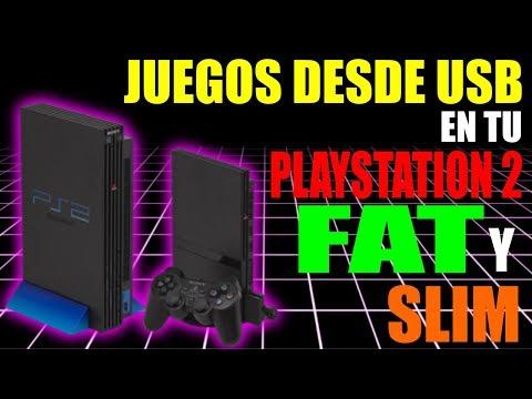 CARGAR JUEGOS DESDE USB EN PLAYSTATION 2 SLIM Y FAT