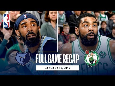 Full Game Recap: Grizzlies vs Celtics | Kyrie Goes For 38 Points & 11 Assists
