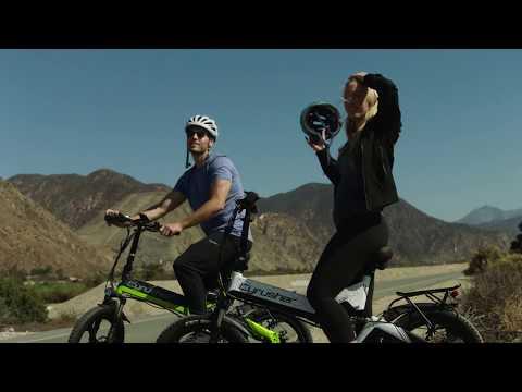 Cyrusher XF590 電動折り畳み自転車、多種な道路状況に適応自転車