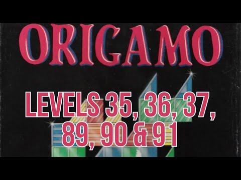 Origamo (1994) - PC - Levels 35, 36, 37, 89, 90 & 91