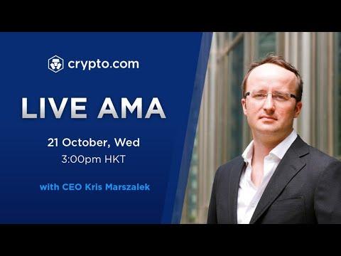 [Crypto.com] - Live Video AMA with CEO Kris Marszalek
