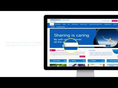 Amadeus Service Hub Search & Browse