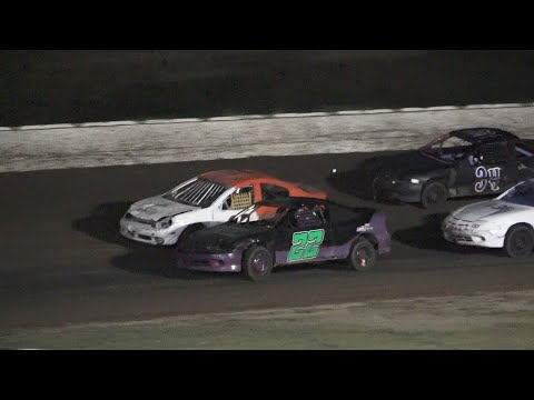 4 Cylinder Saturday Night Special at Mid Michigan Raceway Park, Michigan on 10-01-2021!! - dirt track racing video image