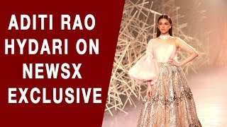 Actress Aditi Rao Hydari Speaks about India Couture Week 2019 to NewsX
