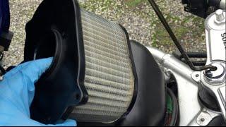 Sostituzione filtro aria su Suzuki Sv 650