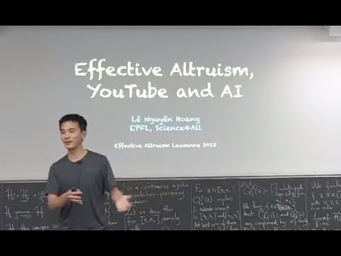 Effective Altruism, YouTube and AI