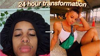 24 Hour Insta Baddie Transformation   Azlia Williams